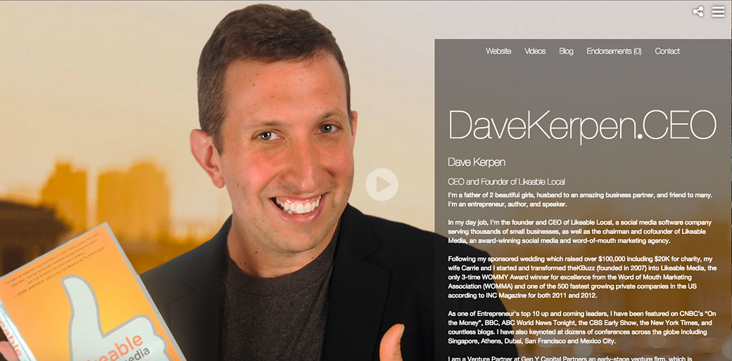Dave Kerpen Profile