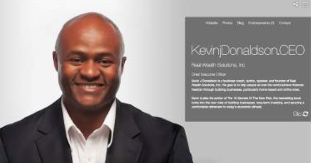 Kevin J Donaldson