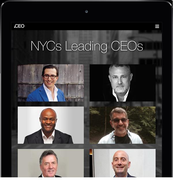 Leading New York CEO