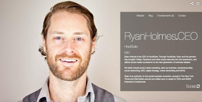 Ryan Holmes Profile